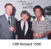15Cliff Richard 1990